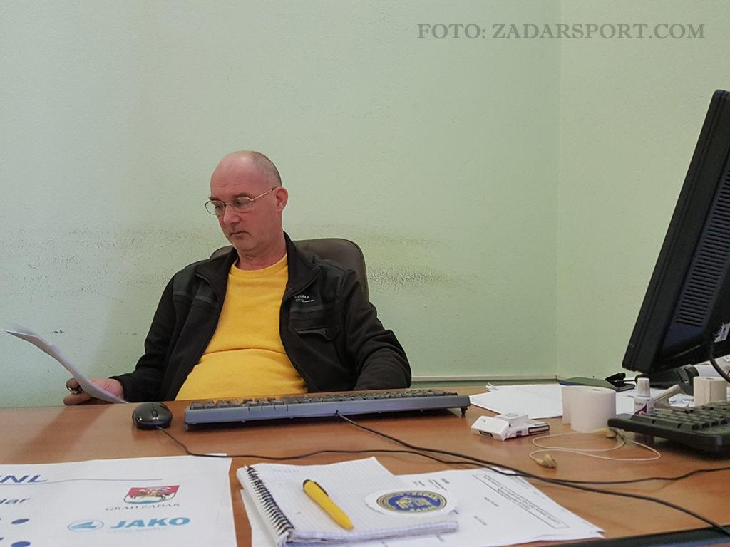 Sergio Dunatov - U Nogometnom klubu Zadar - kao Pale sam na svijetu